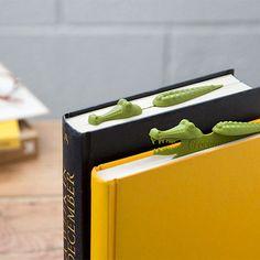 Crocomark - Crocodile Bookmark