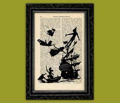 Nº1 de Peter Pan et des enfants battant navire par ThePurpleHamster