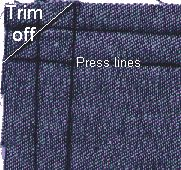 TUTORIAL | MITERED CORNERS (sewing.about) | TUTORIAL 2: http://www.burdastyle.com/techniques/how-to-create-mitered-corners-by-sara-moskovitz/technique_steps/11