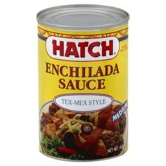 Hatch Tex Mex Style Medium Enchilada Sauce - Shop Marinades and Specialty Sauces at HEB