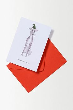 Critter Christmas Card - anthropologie.eu