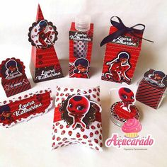 6th Birthday Parties, Birthday Party Decorations, Party Themes, Bug Candy, Decorating Toddler Girls Room, Miraculous Ladybug Party, Ladybug Girl, Girl Shower, Party Planning