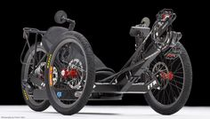 FFR, now Outrider USA, makes some very fascinating lightweight pedelec trikes.  Pricey at $6900