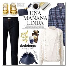 Dudubags.com by mada-malureanu on Polyvore featuring UNIF, Paul by Paul Smith, Crippen, Yves Saint Laurent, Estée Lauder, Armani Beauty, Nails Inc., Christian Lacroix and dudubags