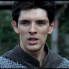 Merlin in chainmail - yes please!