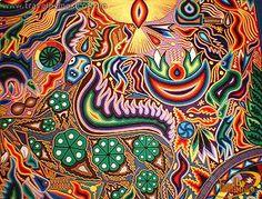 Aboriginal Huichol Art