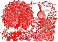 Paper cutting is a unique art which dates back to ancient China. Chinese decorate their windows with paper cutting in hope of auspiciousness. Chinese Culture, Chinese Art, Chinese Paper Cutting, Full Back Tattoos, Ancient China, Paper Art, Cut Paper, Unique Art, Paper Flowers