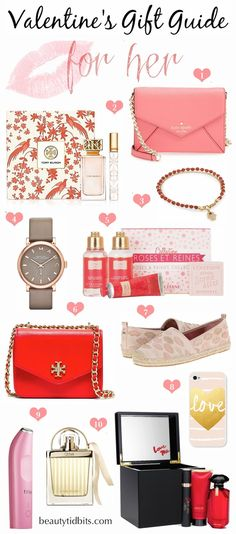 Fabulously sweet & stylish Valentine's Day gift ideas that go way beyond chocolates & flowers! Don't feel bad about forwarding this post to the man in your life, maybe he's just waiting for a little hint from you!