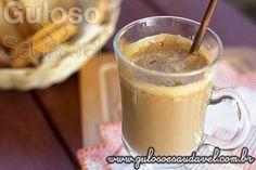 #BomDia! Sabe aquele café super cremoso com leite ou não que só as melhores cafeterias têm? Quer preparar para o café da manhã um delicioso Café Cremoso Caseiro?   #Receita aqui: http://www.gulosoesaudavel.com.br/2014/02/12/cafe-cremoso-caseiro/#caseiro/