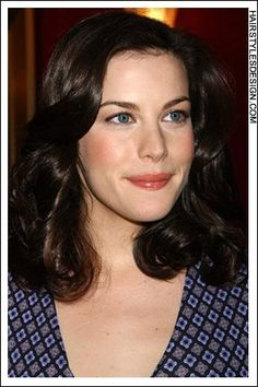 Liv Tyler- Perfect Brunette Hair