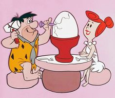 Breakfast at the Flintstones!