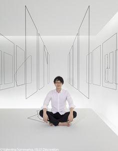 """Oki Sato - Studio Nendo - Installation """"Invisible Outlines"""""""
