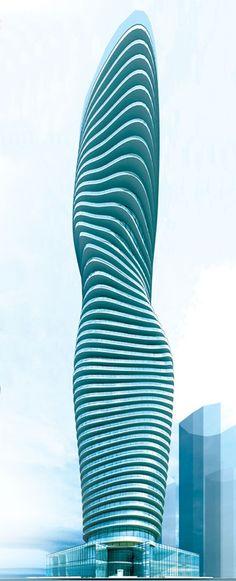 Marilyn monroe building in mississauga ontario canada