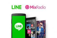 İlk önce Nokia Music, daha sonra da Mix Radio olarak adlandırılan müzik uygulaması,Nokia'nınsahip olduğu eski müzik servisi fakat sonradanLINEtarafından