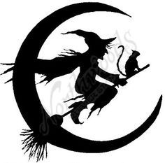 witch silhouette - Google Search