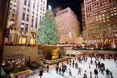 Endereço: 30 Rockefeller Plaza Duração: de 30 de novembro de 2016 a 07 de janeiro de 2017 Um dos cartões-postais mais tradicionais de Nova Iorque durante as celebrações de fim de ano é por certo a Árvore de Natal do Rockefeller Center que se eleva sob...