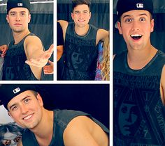 Logan Henderson makes the best faces.