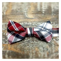 Plaid Bow Tie (Kids)
