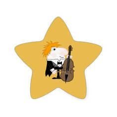 Get your hands on great customizable Bass stickers from Zazzle. Bass, Pikachu, Musicals, Stickers, Fictional Characters, Flat, Sticker, Musical Theatre, Double Bass