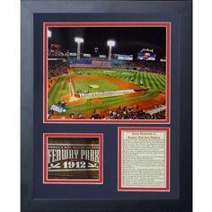 Legends Never Die Fenway Park 2013 World Series Framed Memorabilia