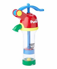 Look what I found on #zulily! Red & Blue Water Pump by Small World Toys #zulilyfinds