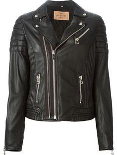 Goosecraft 'Biker Jacket' $324 Smets Boutique - Women's Designer Fashion - Farfetch