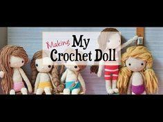 ▶ Crochet Amigurumi HAIR tutorial with CraftyisCool AmiguruME - YouTube