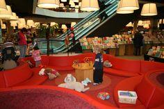 Veilige plek voor peuters in de bibliotheek van Rotterdam