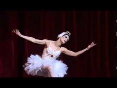 Hillarious Parody of Michael Fokine's Choreography of THE DYING SWAN. Dancer - Ida Nevaseyneva. - YouTube