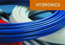 Hydronic floor heating systems.