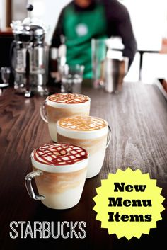 Starbucks New Menu Items - Just Added Today!!!