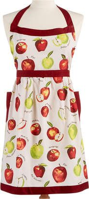 Apple print apron   Martha Stewart apron   fruit apron   Macy's aprons   country orchard apron   #ad
