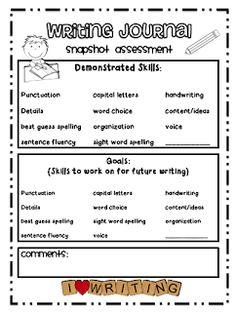 Teaching Blog Addict: Writing Notebooks
