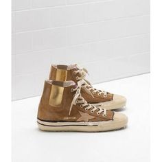 9 best golden goose femme sneakers images on pinterest black shoes  livraison gratuite vente 2017 chaussures golden goose v star 1 sneakers femme ggdb brun dore online