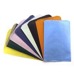 COLORFUL PAPER BAGS 6X9 ASSTD COLOR
