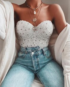 Girly Outfits, Cute Casual Outfits, Pretty Outfits, Stylish Outfits, Nye Outfits, Elegantes Business Outfit, Elegantes Outfit, Summer Birthday Outfits, Spring Outfits