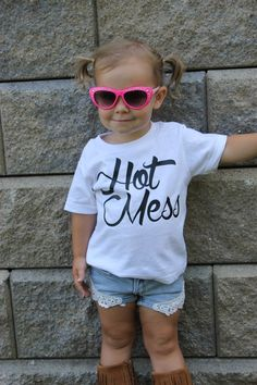 Adorable Hot Mess Shirts for Kids and Toddlers | Just $10.99 on Jane.com