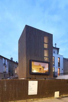 maison contemporaine bois bm archittectes