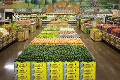 Sprouts --an indoor farmers market concept