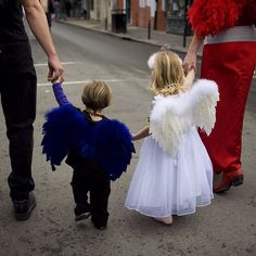 Photo by @tyronefoto (Tyrone Turner) | As a kid in #NewOrleans we all looked forward to #MardiGras - vacation from school king cakes beads and doubloons. For a ten year old the parades felt like complete freedom- within about a three block limit. You didnt know it but if your parents werent watching some adult relative or friend had their eye on you. I am posting more past #carnival pics on @tyronefoto as #FatTuesday approaches. #latergram #picoftheday #angels #frenchquarter @natgeocreative…