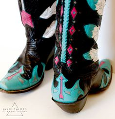Custom boots and a perfect NFR outfit | Allie Falcon Communications