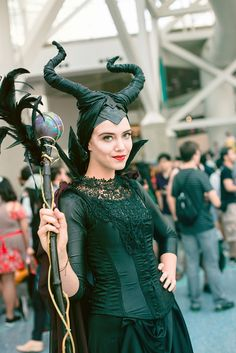 Maleficent #cosplay #AX2014