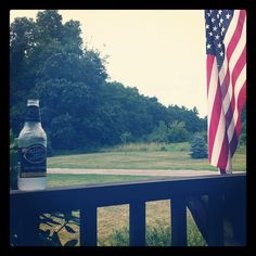 "@courtneycolombo's photo: ""Happy 4th! #mikeshardlemonade #yummy"" American flag mike's hard lemonade porch"