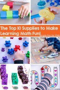 523 Best Math Activities For Preschool And Kindergarten Images On