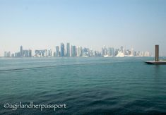 Why You Should Visit Qatar on Your Next Vacation! | A Girl and Her Passport Vacation Destinations, Vacation Trips, Qatar Travel, Eastern Countries, Great Restaurants, Holiday Time, Stunning View, 5 Star Hotels, San Francisco Skyline