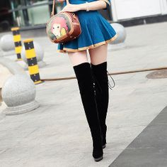 Free shipping 2013 Spring and autumn knee-high boots fashion metal bling  platform sexy ultra 848837808861