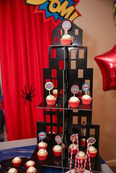 The amazing Spider-Man  Birthday Party Ideas | Photo 6 of 21