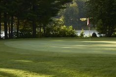 With two natural lakes, water is a factor on ten holes of The Lakes course