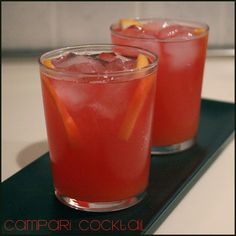 Campari Cocktail   Recetas Fáciles de Cocina: A mi lo que me gusta es cocinar