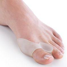 2 pcs = 1 pair perawatan kaki sol korektif orthotics Hallux valgus Kaki pemisah Jari Kaki perangkat terbelah file untuk heels dr scholls